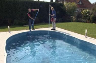 Чем мыть каркасный бассейн после слива воды
